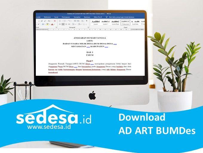 Contoh AD ART BUMDes