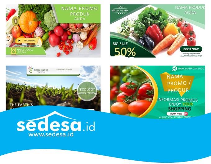 Desain Promosi Produk Pertanian Unduh Gratis Sedesa Id
